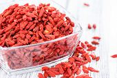 Dried Goji Berries In A Bowl