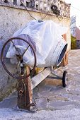 Old Concrete Mixer