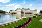 VIENNA, AUSTRIA-July 6 : Schoenbrunn Palace, a UNESCO World Heritage Site in Vienna. Schoenbrunn Pal