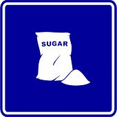sugar bag sign