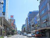 Katamachi Kanazawa cityscape Japan