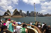 Tourist On Manley Ferry-2