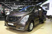Bangkok - November 28: Hyundai H-1 Elite  Car On Display At The Motor Expo 2014 On November 28, 2014