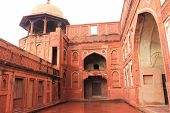 pic of mughal  - Agra Fort is a UNESCO World Heritage site in Agra Uttar Pradesh India - JPG