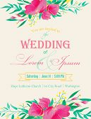 Wedding Invitation.