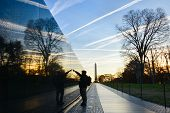 picture of sunrise  - Washington DC  - JPG