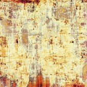 Grunge colorful texture for retro background. With different color patterns: yellow; brown; orange; beige