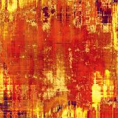 Retro background with grunge texture. With different color patterns: red; orange; brown; yellow