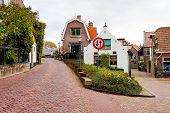Narrow streets in a Dutch Village