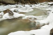 Pacific Northwest, Icy Winter River