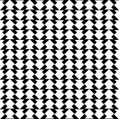 stock photo of trapezoid  - Black and white geometric seamless pattern with trapezoid abstract background vector illustration - JPG