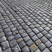 Texture Of Cobblestone Background