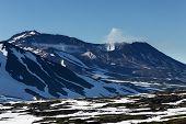 Mutnovsky Volcano - Active Volcano Of Kamchatka Peninsula