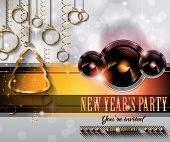 2015 New Year and Happy Christmas background for your flyers, invitation, party posters, greetings card, brochure cover or generic banners