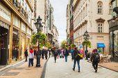 Vaci Street Crowded With Tourists