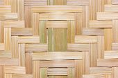 Bamboo Weaved Texture Background.