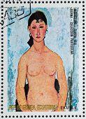 Elvira By Modigliani