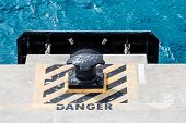 Постер, плакат: Danger By Bollard