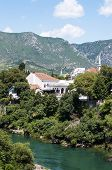 Mostar City View, Bosnia And Herzegovina