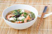 Japanese Hot Pot Soup Yosenabe