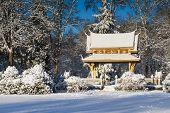 Sala Thai Pavillion In The Snow
