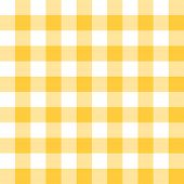 Rich gold and white checkered seamless  background pattern