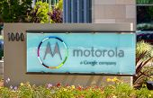 Motorola Headquarters Sign In Silicon Valley
