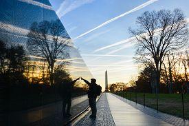 stock photo of veterans  - Washington DC  - JPG