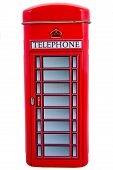 picture of phone-booth  - The box in the form of english telephone booth phone red street - JPG