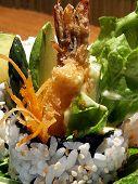 Shrimp Sushi Roll