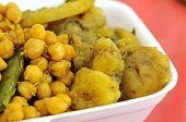 Healthy Indian Vegetarian Set Meal