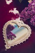 picture of mirror  - Elegant heart - JPG