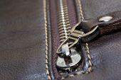 foto of zipper  - zipper concepts ideas opening zip unzipped construction - JPG