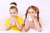 picture of milk  - Milk is healthy - JPG