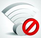 stock photo of antenna  - No signal bad antenna concepts - JPG