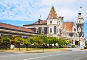 Dunedin Railway Station, South Island of New Zealand