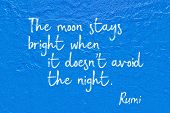 Moon Stays Rumi poster