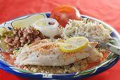 Cajun Fisch-Abendessen