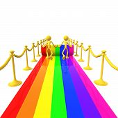 Rolling Out The Rainbow Carpet