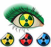 Ícones radioactivos