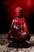 Estatuilla de la estatua de Buda