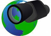 Monocular and Planet Earth