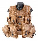 Modern British combat equipment vest.