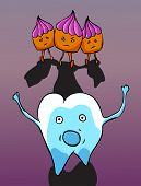Three Bad Cakes Pursue Tooth