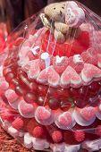 Candy Valentine Cake