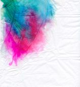 Stained Tissue Paper
