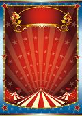 blue and red circus background. a circus background. Read your message. See another illustrations li
