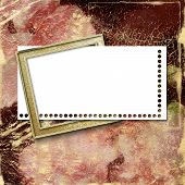 Greeting Or Invitation On The Abstract Background.