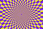 Optical Spiral Illusion. Magic Psychedelic Pattern, Swirl Illusions And Hypnotic Abstract Background poster