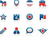 Ícones de votação
